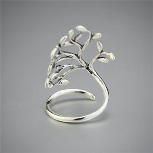 Tree of Life Sterling Silver Wrap Ring