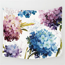 Flowers Art Painting Tapestry