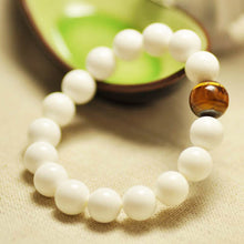 Natural Pure White Tridacna Bracelets