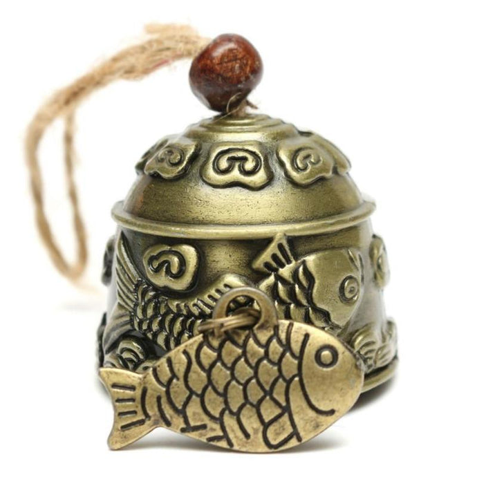 Auspicious Fish Pattern Wind Chimes