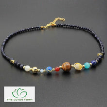 Universe Natural Stones Healing Necklace