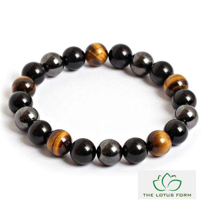 Triple Protection Bracelet in Self-Confidence, Harmony and Purity