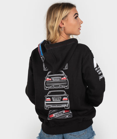 BMW M3 E92, E46, E36, E30 POWER Womens Hoodie