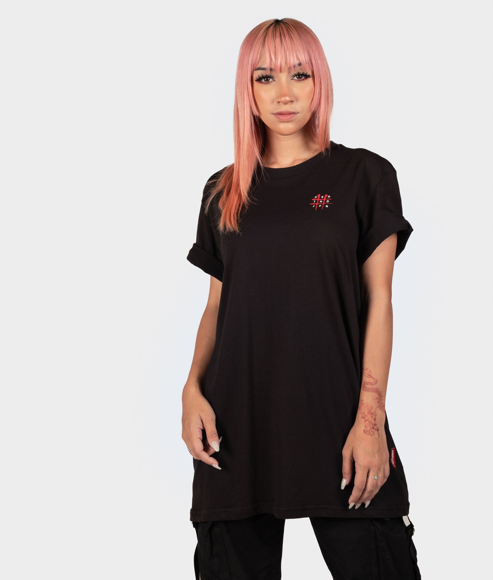 Womens Bloodbath Tee - Black