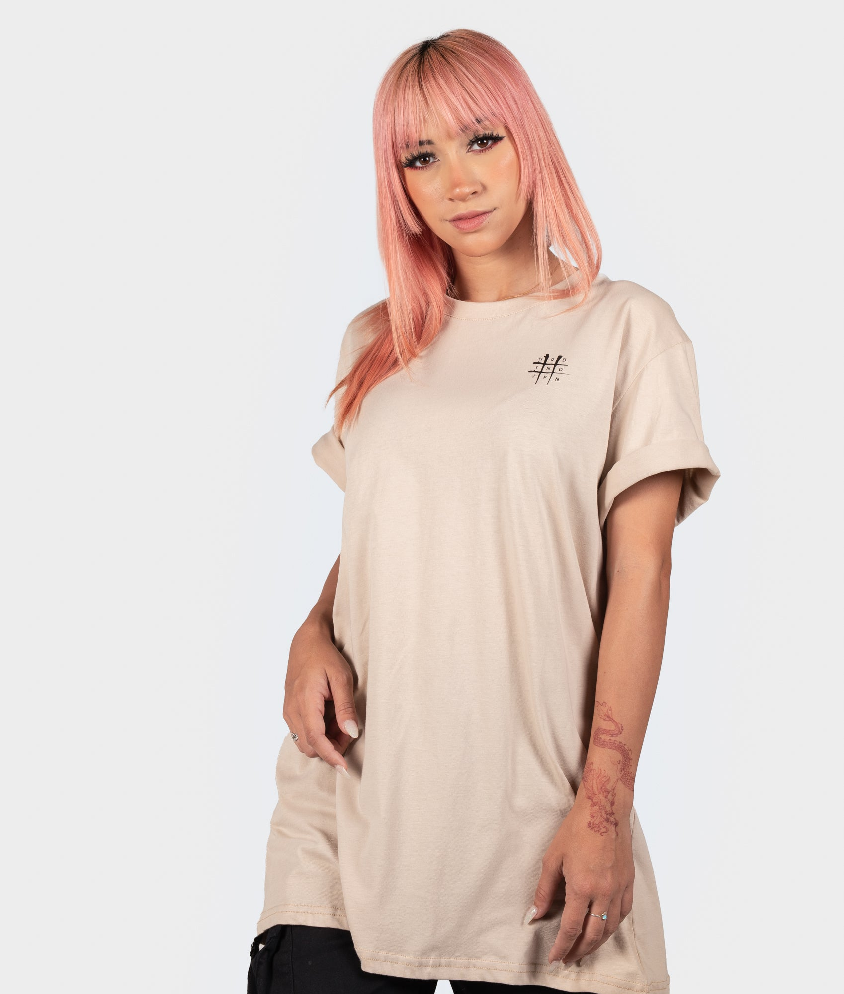 Womens Bloodbath Tee - Tan
