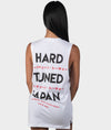 HTxJPN Crossing Tank - White