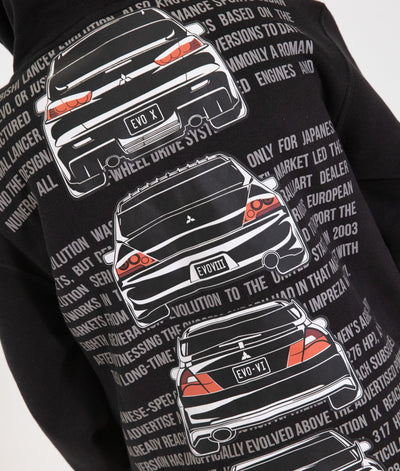 Youth Mitsubishi Evolution Hoodie