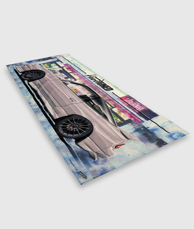 Nissan 180SX Workshop Flag