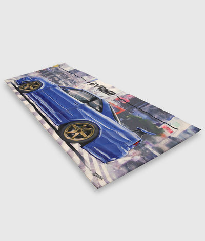 Nissan Skyline R34 GTR Workshop Flag