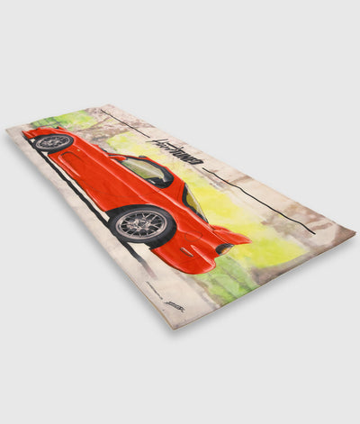 Mazda RX7 Workshop Flag