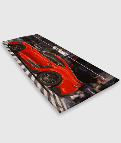 Toyota Supra MKV Workshop Flag