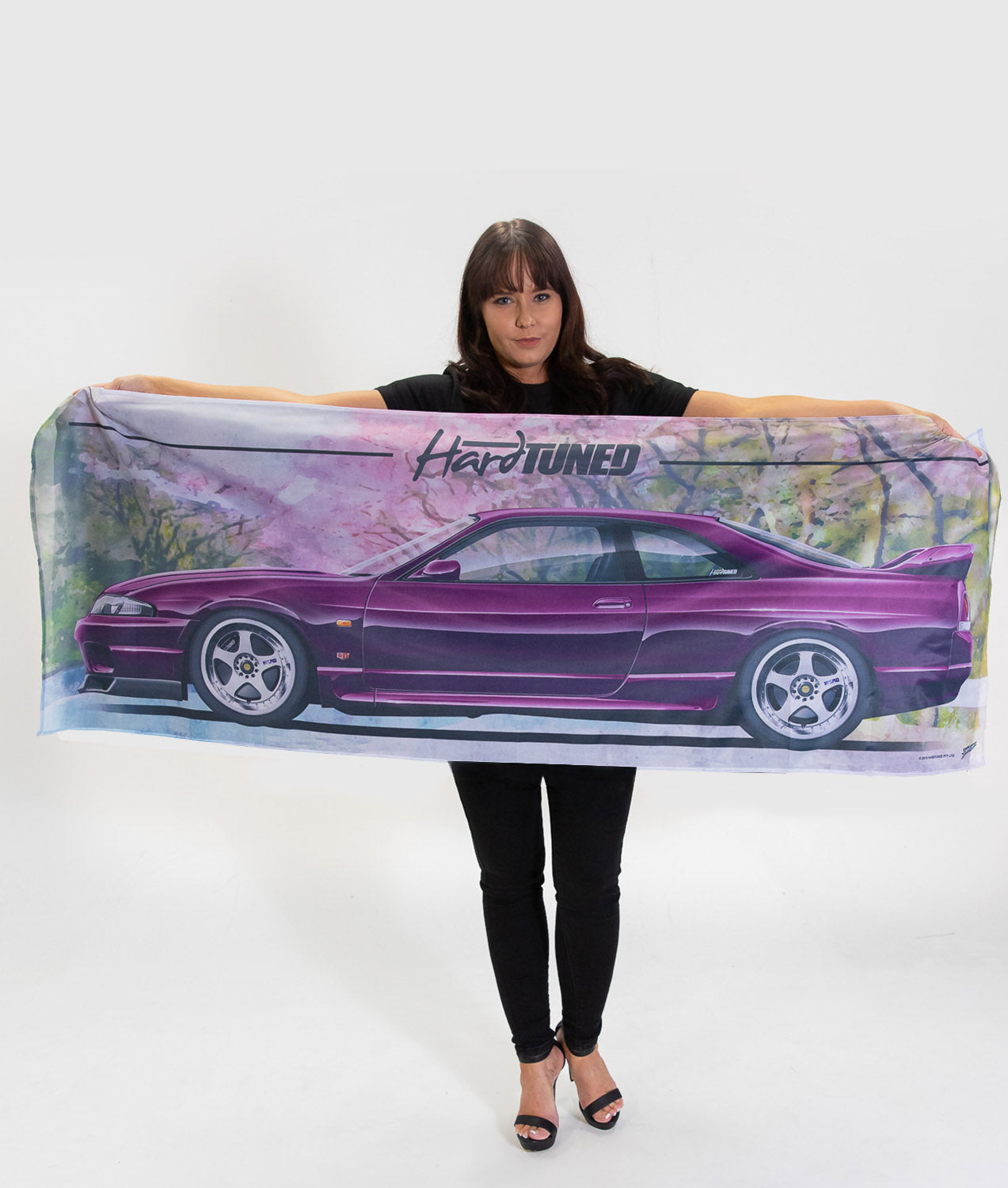 Nissan Skyline R33 GTR Workshop Flag