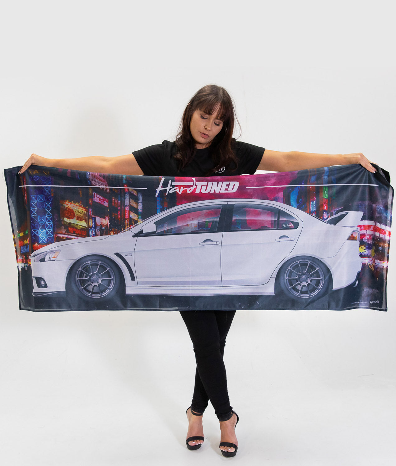Mitsubishi Evolution 10 Workshop Flag