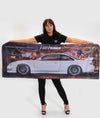 Nissan Silvia S14 Workshop Flag