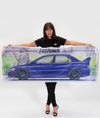 Mitsubishi Evolution 9 Workshop Flag