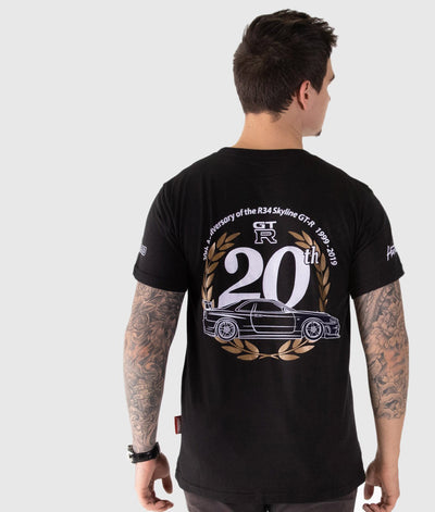 20th Anniversary R34 GTR  Tee **LIMITED EDITION**