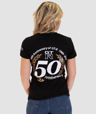 50th Anniversary GTR Womens Tee **LIMITED EDITION**