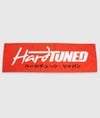 HardTuned Red Workshop Flag Banner