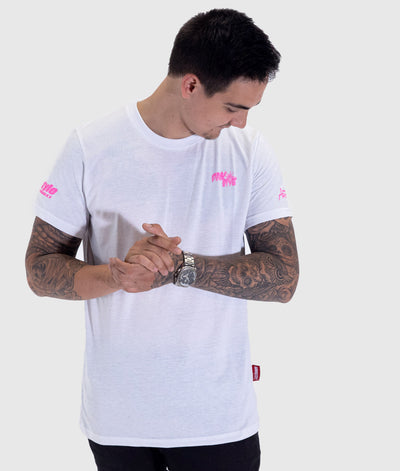 Pink Style - Kansai Drift Team 2019 White Tee **LIMITED EDITION**