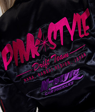 Pink Style - Kansai Drift Team 2019 Womens Bomber Jacket **LIMITED EDITION**