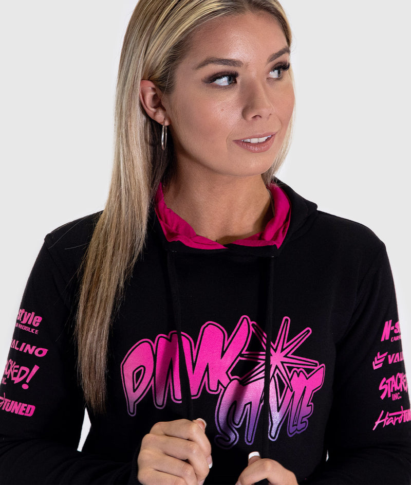 Pink Style - Kansai Drift Team 2019 Womens Hoodie **LIMITED EDITION**