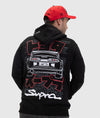 Toyota Supra MKIV Pullover Hoodie
