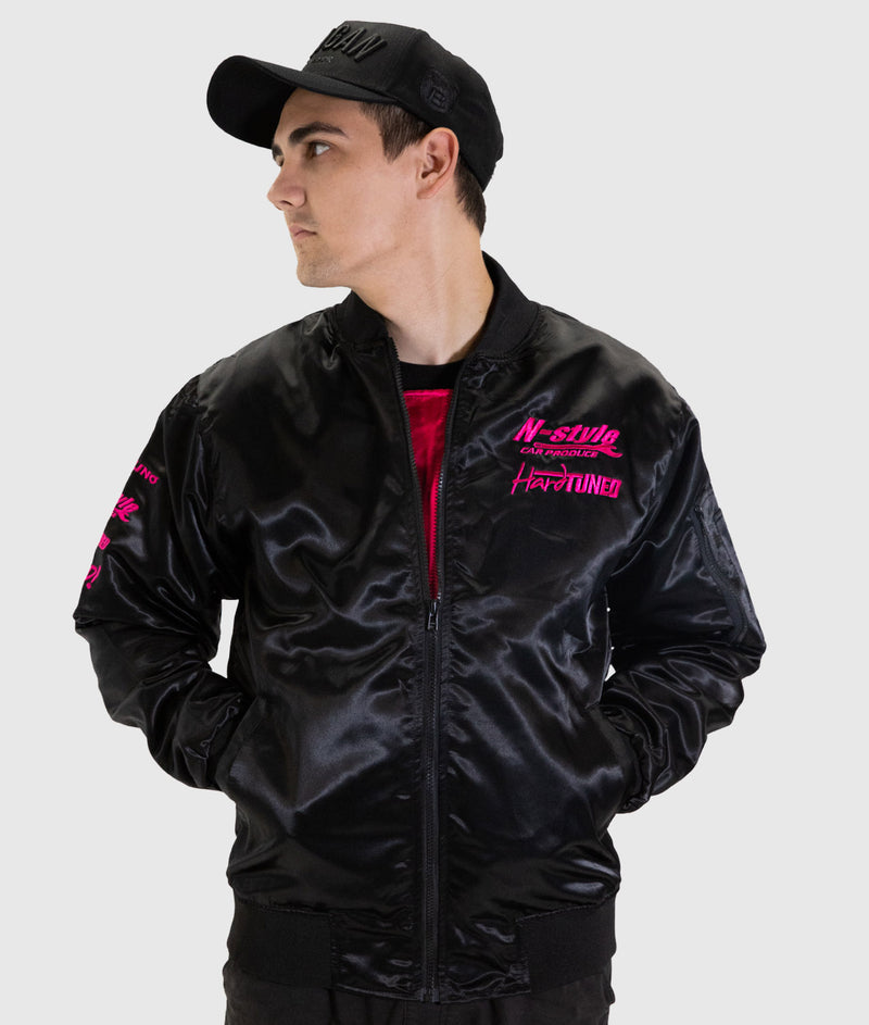 Pink Style - Kansai Drift Team Mens Bomber Jacket