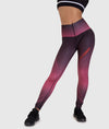 Hex Contour Leggings - Plum