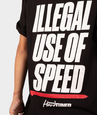 Illegal Use Of Speed Tee