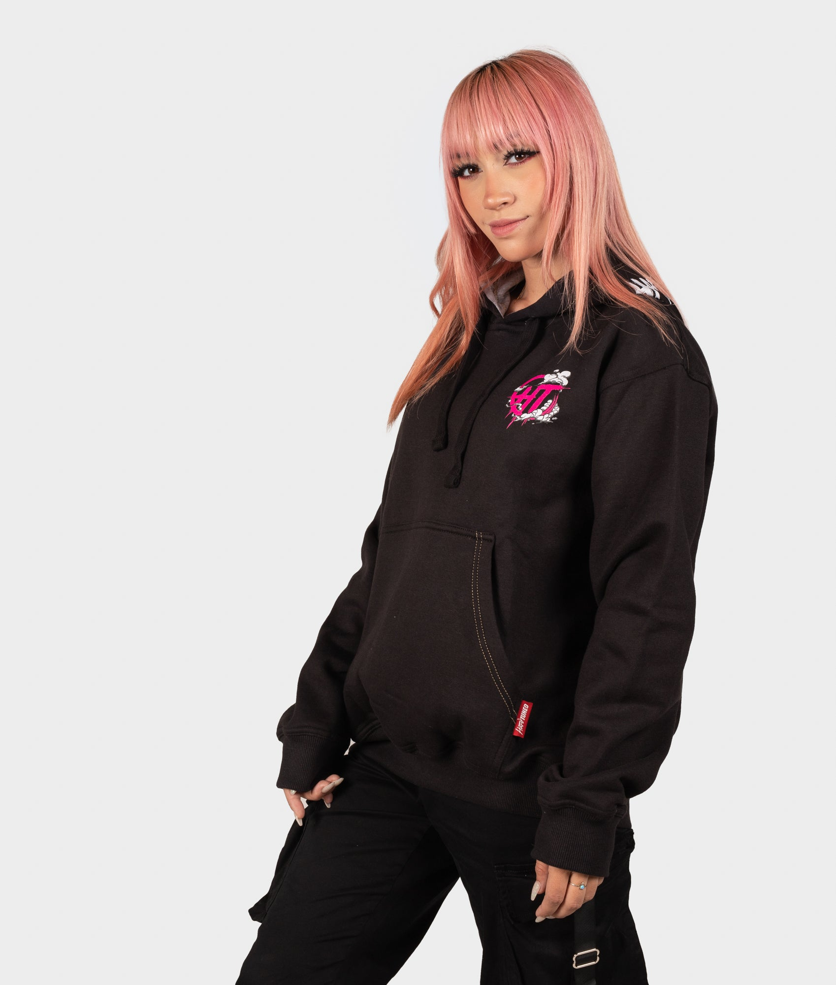 Womens Smoke Wheels Hoodie