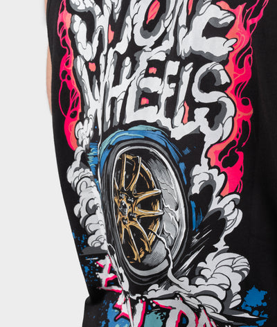 Smoke Wheels Tank Top