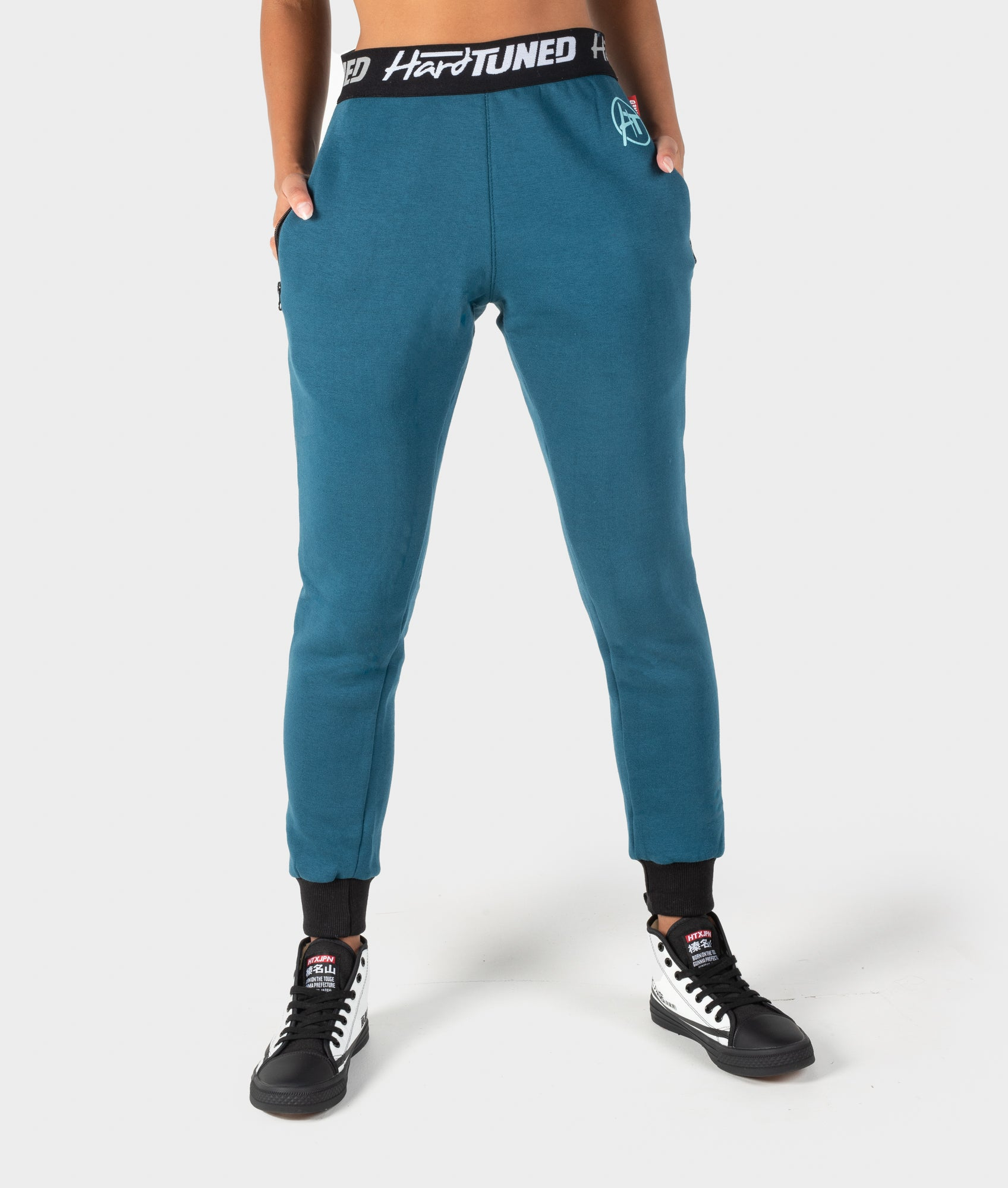 Ladies Power Over Trackies - Teal