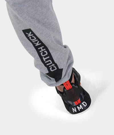 Power Over Track Pants - Gray
