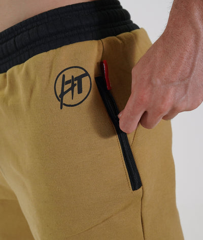 Power Over Track Pants - Tan