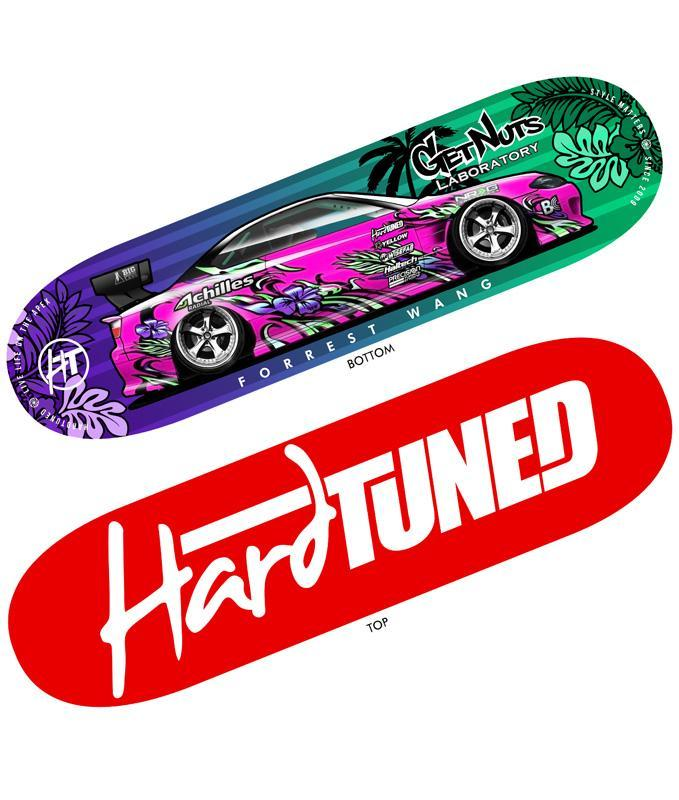 GetNuts x HardTuned Skate Deck  **LIMITED EDITION**
