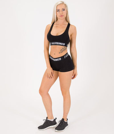 Crops - Hardtuned Booty Shorts Black