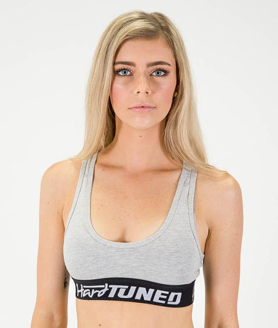 Crops - Hardtuned Crop Top Gray