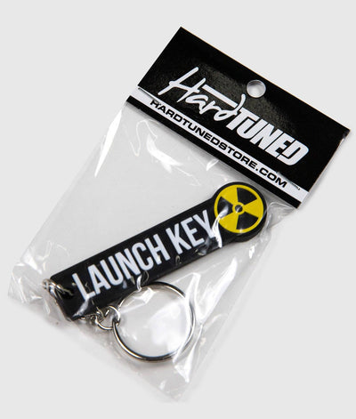 Launch Key Soft Rubber Key Ring