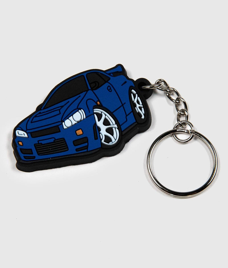 Nissan Skyline GTR Soft Rubber Key Ring
