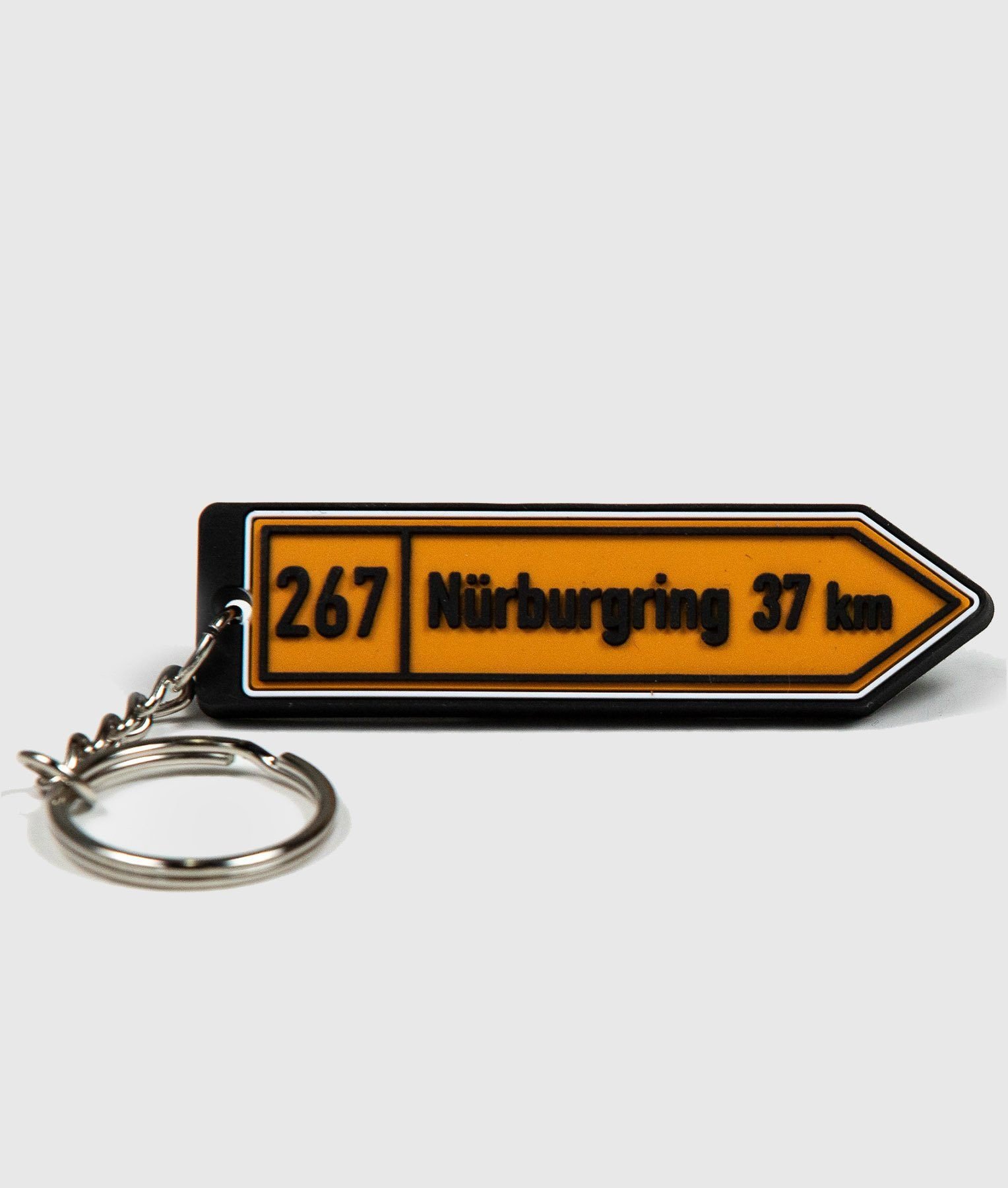 Nurburgring Soft Rubber Key Ring