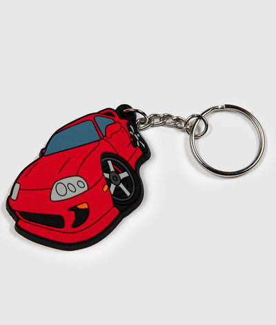 Toyota Supra Soft Rubber Key Ring