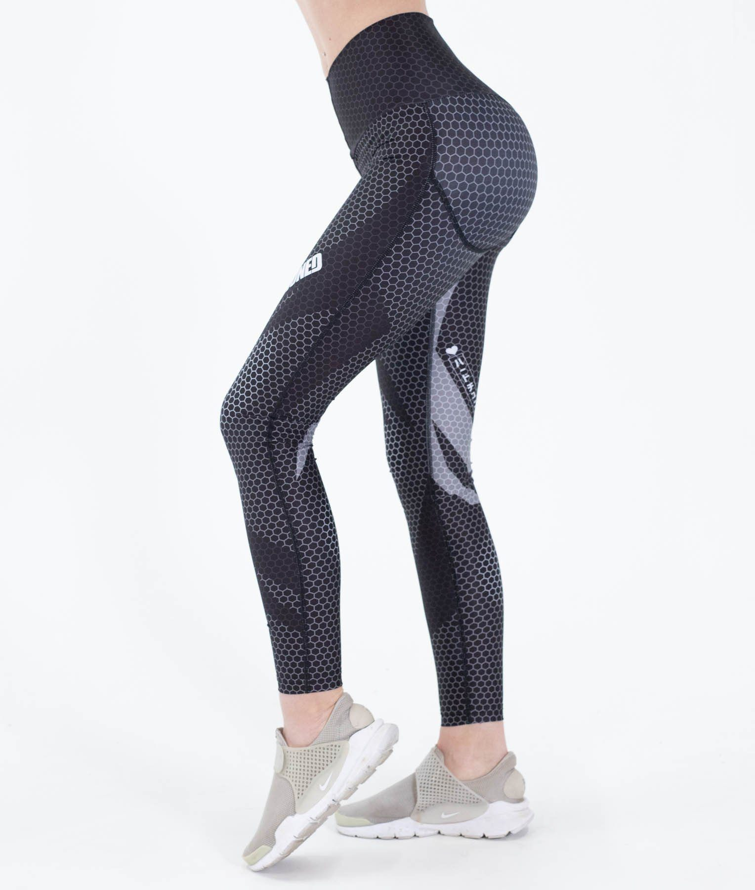 Leggings - Hex Contour Leggings
