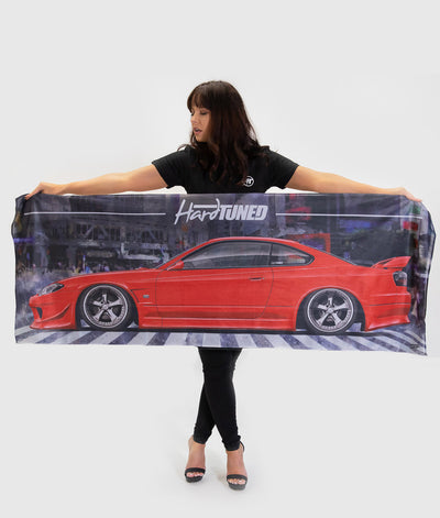 Nissan Silvia S15 Workshop Flag