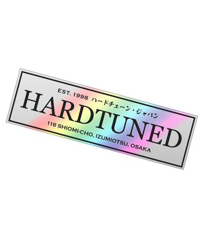 Sticker - Hardtuned Classic Drift - Holographic