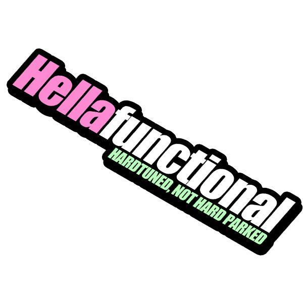 Hellafunctional Sticker