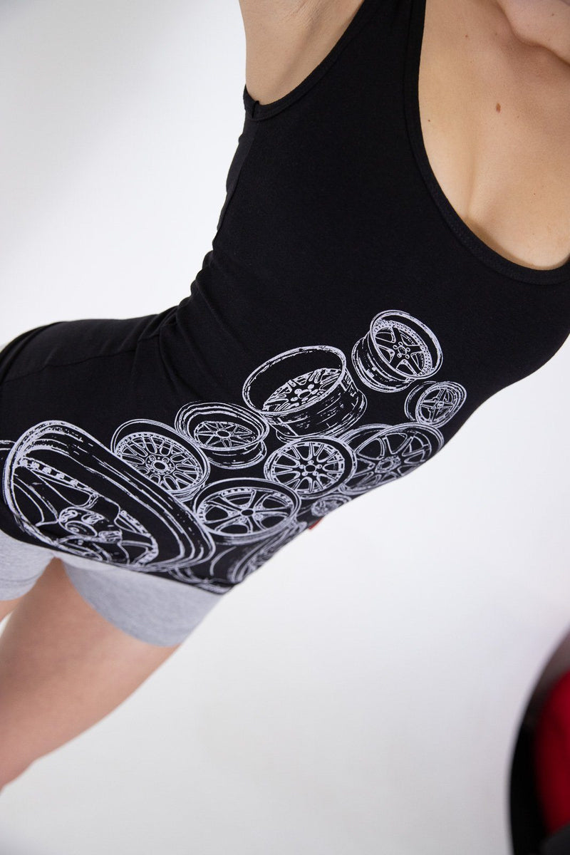 Classic Work Wheels Womens Singlet