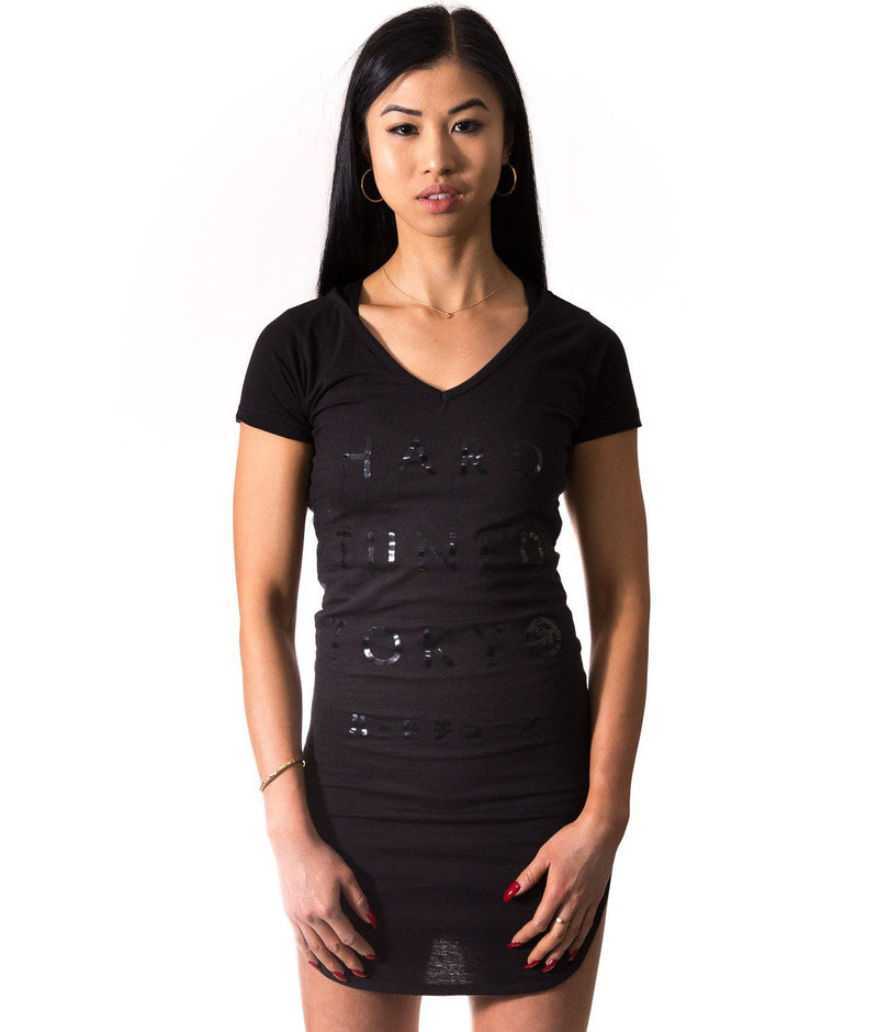 HardTuned Tokyo Fitted Tee Dress