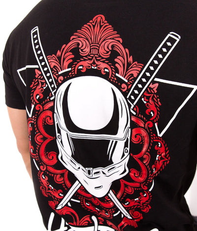 Helmet Tattoo Band Tee