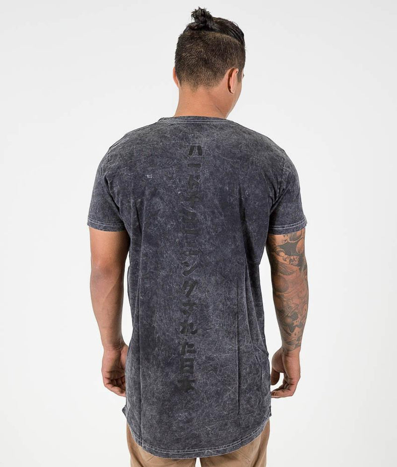 Tee - HTXJPN Acid Wash Tall Tee