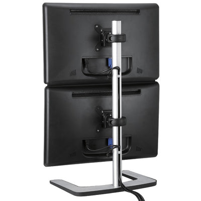 Freestanding Dual Vertical Monitor Mount
